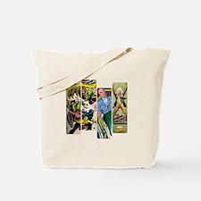 Professor X Comic Panel Tote Bag