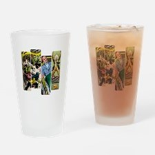 Professor X Comic Panel Drinking Glass