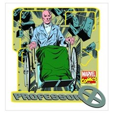 Professor X Wall Art Poster