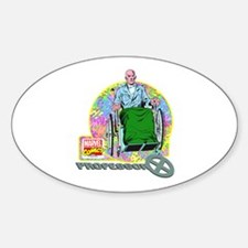 Professor Xavier X-Men Sticker (Oval)