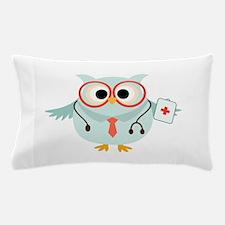 Owl Doctor Pillow Case