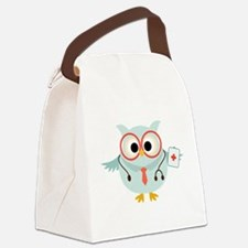 Owl Doctor Canvas Lunch Bag