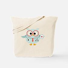 Owl Doctor Tote Bag