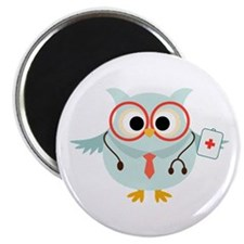 "Owl Doctor 2.25"" Magnet (10 pack)"