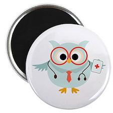 "Owl Doctor 2.25"" Magnet (100 pack)"