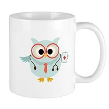 Owl Doctor Small Mug