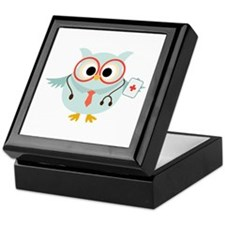 Owl Doctor Keepsake Box