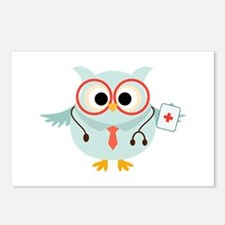 Owl Doctor Postcards (Package of 8)