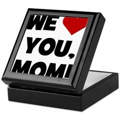 We (heart) Love You Mom Keepsake Box