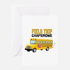 Field Trip Chaperone Greeting Cards