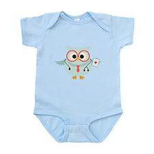Owl Doctor Infant Bodysuit