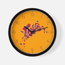 The Invisible Rabbit Wall Clock