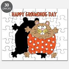 Happy Groundhog Day Puzzle