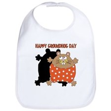 Happy Groundhog Day Bib