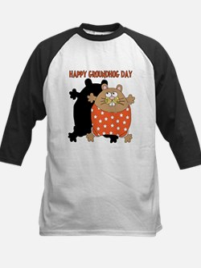 Happy Groundhog Day Kids Baseball Jersey