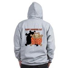 Happy Groundhog Day Zip Hoodie