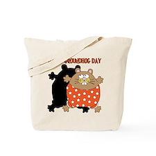 Happy Groundhog Day Tote Bag