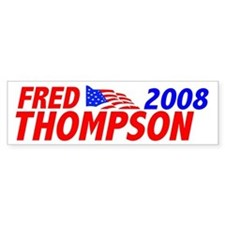 Fred 2008 Bumper Bumper Sticker
