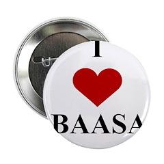 I Love (heart) Obaasan Button