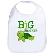 Turtle Big Brother Bib