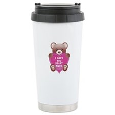 I Love You Beary Much Travel Coffee Mug