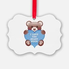 I Love You Beary Much Ornament