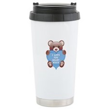 I Love You Beary Much Travel Mug