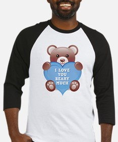 I Love You Beary Much Baseball Jersey