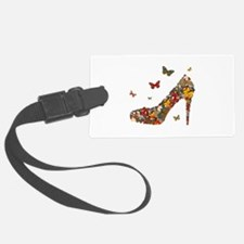 Butterflies and Heels Luggage Tag