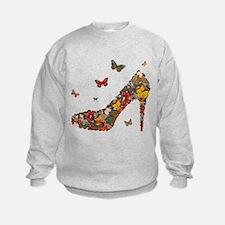 Butterflies and Heels Sweatshirt