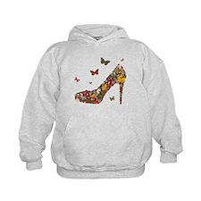 Butterflies and Heels Hoodie