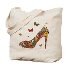 Butterflies and Heels Tote Bag