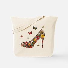 Butterflies and Heels Tote Bag