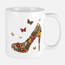 Butterflies and Heels Mug
