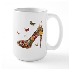 Butterflies and Heels Mug