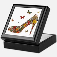 Butterflies and Heels Keepsake Box