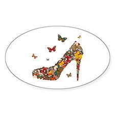 Butterflies and Heels Decal