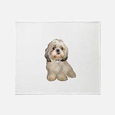 Shih Tzu (Y)-JTD Throw Blanket