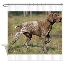 german shorthair pointer full Shower Curtain