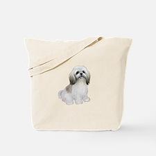 Shih Tzu-(W-Tan)-JTD Tote Bag