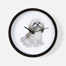 Shih Tzu-(W-Tan)-JTD Wall Clock