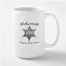 Sheriff Mayberry NC Mugs