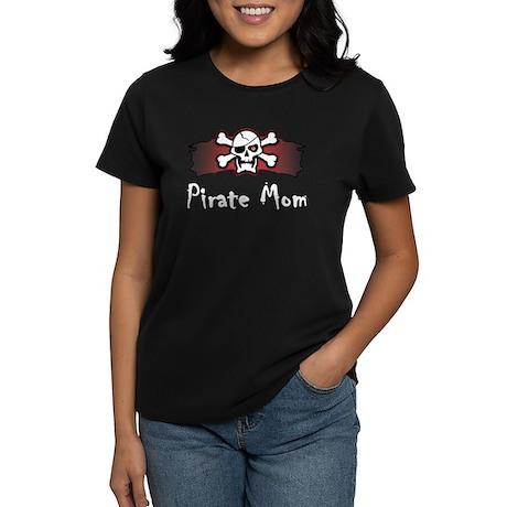 Pirate Mom Women's Dark T-Shirt