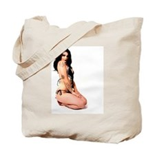 Pinup Girl Tote Bag