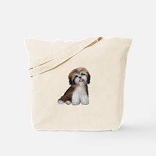 Shih Tzu (brn-crm)-JTD Tote Bag