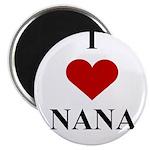 I Love (heart) Nana Magnet