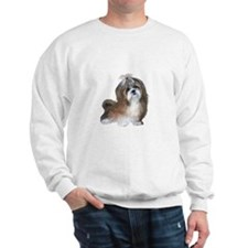 Shih Tzu (brn-crm2)-JTD Sweatshirt