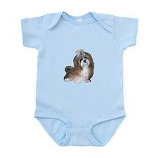 Shih Tzu (brn-crm2)-JTD Infant Bodysuit