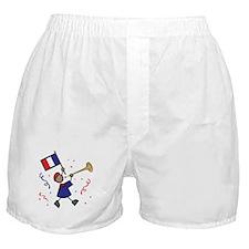 France Holiday Boxer Shorts
