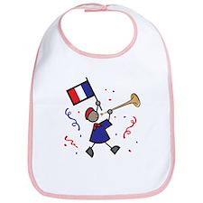 France Holiday Bib